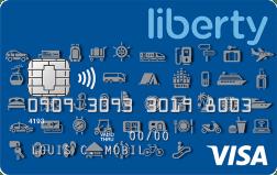liberty visa card